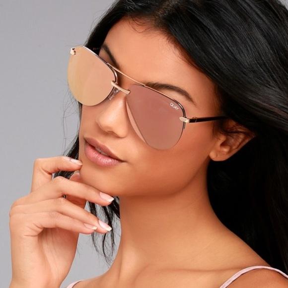 e53dd4d5a1 Quay playa sunglasses in pink gold. M 5ac116002c705d3f947b424a